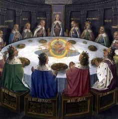 Perceval, King Arthur, the Round Table and the Story of the Holy Grail