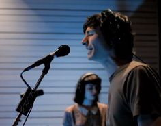 "Like resignation to the end, always the end... Gotye performing ""Somebody That I Used To Know"" on KCRW"