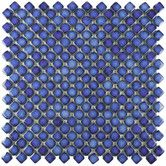 """Found it at Wayfair - Gem 3/4"""" x 3/4"""" Porcelain Mosaic Floor and Wall Tile in Glossy Sapphire"""