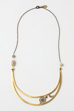 Make my dreams come true  Crescent Moon Necklace #anthropologie