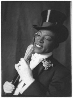 """SINGER: George W. Walker in """"In Dahomey,"""" 1903. """"In Dahomey"""" was the first musical written and played by an African-American cast."""