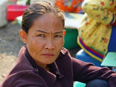 Annoyed Cambodian woman, by NomadicSamuel, via Flickr
