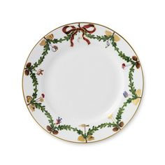 Royal Copenhagen Star Fluted Christmas Plate 19 cm