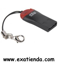Ya disponible Adapt. omega micro sd a USB   (por sólo 9.99 € IVA incluído):   - Marca: Omega - Modelo:  OUCMSD  -Características - Lápiz Lector de Tarjetas MEMORY STICK M2 y MICRO SD - Interfaz: USB 2.0 - Compatible con todas las tarjetas del mercado de alta capacidad hasta 32 GB. - Compatibilidad con tarjetas de alta capacidad hasta: 32 GB - Velocidad delectura:hasta20MB/s - Velocidad de escritura: hasta 18 Mbps/s - Color: Negro/Rojo - Material:Plástico - Tipo de emba