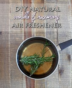 How to make your own DIY Vanilla and Rosemary Air Freshener