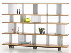 Edward Barber and Jay Osgerby have designed the Vitra Planophore as a dual-purpose room divider and bookshelf.