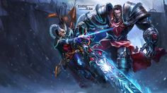 LoL - Vayne Garen splash by ConShinn.deviantart.com on @deviantART