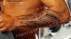 forearm-tattoo-marquesan-tribal-style-maori