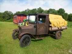 1925 Ford Model TT 1-Ton Stake Truck