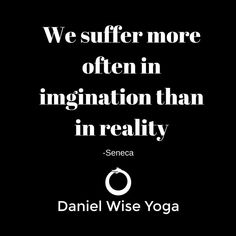 Suffering is real, but our minds create much of it. Yoga and meditation are tools that can help us take control of our mind and body and change our relationship to suffering. What practices benefit you? #stoicism #stoic #meditation #yoga #seneca