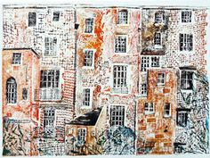 Jackie Curtis, The Backs collagraph