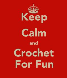 keel calm and crochet