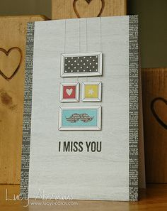 Created by Lucy Abrams using the Simon Says Stamp April 2014 card kit.  March 2014