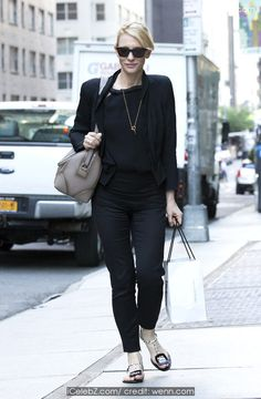 Cate Blanchett wearing all black, on her way to the New York City Theatre ahead of her evening performance in 'The Maids' http://icelebz.com/events/cate_blanchett_wearing_all_black_on_her_way_to_the_new_york_city_theatre_ahead_of_her_evening_performance_in_the_maids_/photo1.html