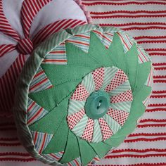 Candy pincushions would also make cute pillows in a larger size