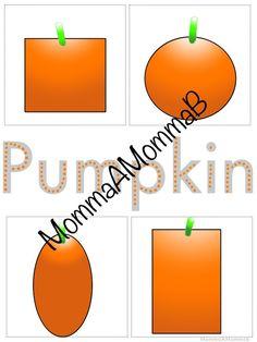 Pizza and Pumpkins | Pre-K Printable Activities – Brandi Hightower Community Helpers, School Themes, Tot School, Pumpkins, September, Pizza, Printables, Activities, Math