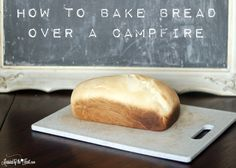 How to bake bread over a campfire. Bake bread in a fire pit. How to bake bread while camping. Bake bread over a campfire without burning it. Dutch Oven Cooking, Fire Cooking, Outdoor Cooking, Camping Menu, Camping Glamping, Camping Cooking, Campfire Food, Cooking Gadgets, Bread Baking