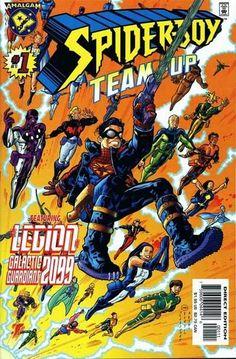 SPIDER-BOY TEAM UP #1  AMALGAM COMICS  JUNE 1997  $1.95