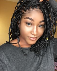 Bob Braids 30 Length Braided Hairstyles Part 16
