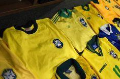 Brazil football shirts collection Football Shirts, Brazil, Polo Shirt, Polo Ralph Lauren, Mens Tops, Collection, Football Jerseys, Soccer Shirts, Polos