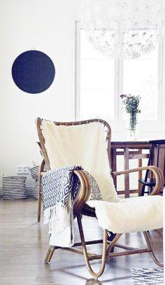 Vintage Lumikenkä tuoli ant.ruskea www.parolanrottinki.fi kuva: Kati Pilli-Sihvola, Call It Home-blog
