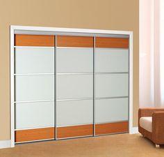 "Colonial Elegance 48"" x 96"" Studio Framed Frosted Glass Sliding Door at Menards"