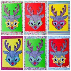 Fun Reindeer Craft Template Teaching Resource – Teach Starter