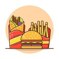 Vegan Burger Restaurant, Pancake Restaurant, Restaurant Poster, Burger Menu, Food Menu Template, Restaurant Menu Template, Fruit Sketch, Food Typography, Rick And Morty Poster
