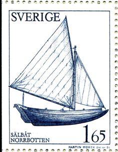 "Sweden 1,56kr ""Sälbot"". Martin Mörck sc."