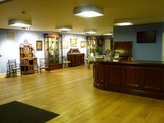 The reception at Sworders Fine Art Auctioneers The Saleroom, Antique Auctions, Liquor Cabinet, Reception, Fine Art, House, Furniture, Home Decor, Haus