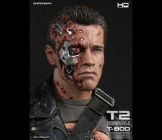 #Terminator2 #Terminator #Battle #DamagedEdition #Masterpiece #JudgementDay #ArnoldSchwarzenegger #Figurines #movable #TerminatorFans #fans #Enterbay #EnterbayUSA #movie #muscular #body #LEDLight #M79Grenade #launcher #accessories #mightyweapons #interchangeable