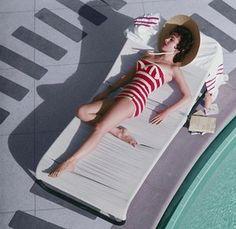 Slim Aarons Photography - The actress Mara Lane at the Sands hotel, Las Vegas, 1954