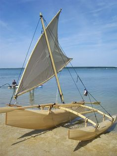 Proa - Alchetron, The Free Social Encyclopedia Canoe Camping, Canoe And Kayak, Outdoor Camping, Sailing Kayak, Kayak Boats, Outrigger Canoe, Boat Fashion, Boat Projects, Wood Boats