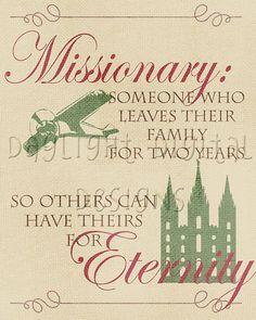 Missionary Print