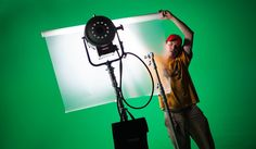 The fundamentals of lighting a green screen #video #cinematography