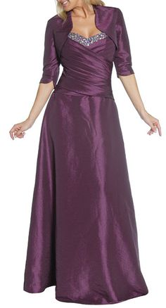 PLUM DRESSES | ... Full Length Evening Party Formal Dress(3 Colors - S to 4XL) #1123jul