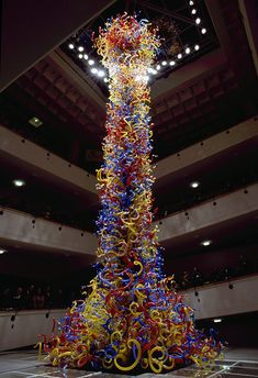 Giant Blown Glass Sculptures by Dale Chihuly