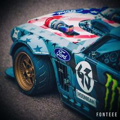 View 03 Ken Block Hoonicorn Mustang Toyo Proxes Tires - Photo 236651903 from Ken Block Slays More Tires With Climbkhana on Pike's Peak Cool Sports Cars, Sport Cars, Cool Cars, Ken Block, Us Cars, Race Cars, Supercars, E36 Coupe, Stock Car