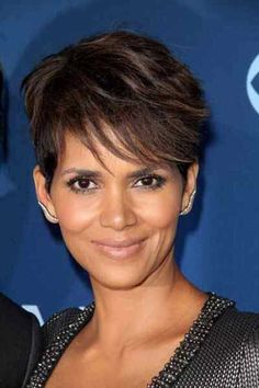 Trendy Short Haircuts for Women Over 40  Celebrity Short Haircuts Hairdos For Older Women, Hair Styles For Women Over 50, Short Hair Cuts For Women, Short Hair Styles, Halle Berry Hairstyles, Over 40 Hairstyles, Short Hairstyles For Women, Dread Hairstyles, Medium Hairstyles