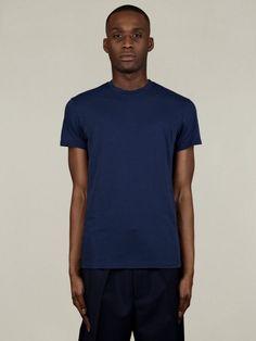 Jil Sander Mens Basic T-Shirt | oki-ni
