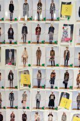 Las fotos del #backstage y #fitting de Shake before use, la colección #CUSTO #AW15 en la #MBFWNY