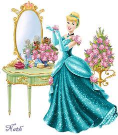 Disney- mes tubes - (page 2) - passionimages Cinderella Doll, Disney Princess Cinderella, Disney Princess Pictures, Disney Fan Art, Disney Style, Disney Love, Walt Disney, Cinderella Wallpaper, Disney Wallpaper
