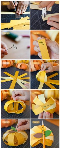 DIY Paper Pumpkins - Holidays Tips & Advice | mom.me