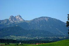 Pfronten-Weissbach, mit Aggenstein und Breitenberg