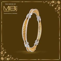 Immerse yourself in designs that redefine artistry #TheHouseofMBj #MBjIndia #Jewellery #Bangle #Luxury #Jewelry #GoldandDiamond #Traditional