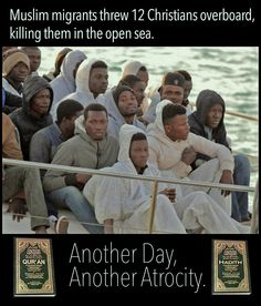 Muslim migrants threw Nigerian and Ghanaian Christians overboard | Everyday Devotional