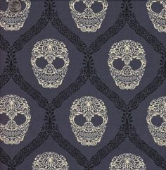 Candy skull wall paper