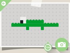 Lego crocodile Lego Duplo, Lego Activities, Lego Games, Interactive Learning, Fun Learning, Lego Therapy, Block Area, Busy Boxes, Lego Design
