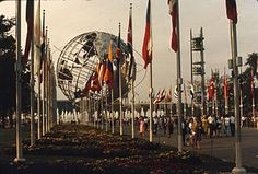 1964 New York World's Fair, Flushing Meadows. Queens, NY.
