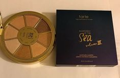 Tarte Rainforest of the Sea Vol III 3 Highlighting Eyeshadow Palette - NIB Nude Makeup, Makeup Set, Eyeshadow Looks, Eyeshadow Palette, Tarte Sea, Cut Crease Tutorial, Foundation Brush, Gorgeous Eyes, Contouring And Highlighting